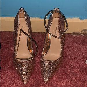 Rose Gold 9.5 High Heel